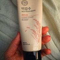 The Face Shop Rice Water Bright Cleansing Foam 150ml 150ml uploaded by Ashley R.