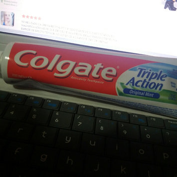 Photo of Colgate® Triple Action Fluoride Toothpaste Original Mint uploaded by YAILIN PAOLA M.