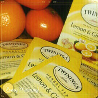 Twinings® Infusion Tea Bags Individually-wrapped Lemon and Ginger uploaded by Jeannine L.