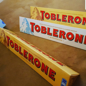 Photo of Toblerone Swiss Milk Chocolate uploaded by Camille A.
