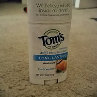 Tom's OF MAINE ANTIPERSPIRANT & DEODORANT Fresh Apricot Long Lasting Deodorant uploaded by Lacy S.