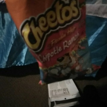 Photo uploaded to CHEETOS® Flamin' Hot® Chipotle Ranch Crunchy Cheese Flavored Snacks by Krystalynn P.