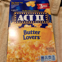 Act II® Butter Lovers® Microwave Popcorn uploaded by naf C.