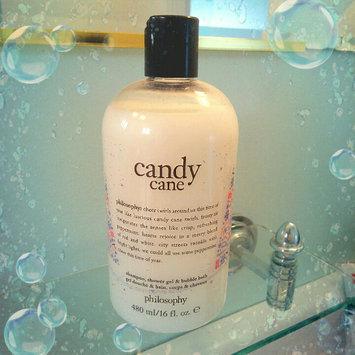 Photo of philosophy Candy Cane Shampoo, Shower Gel & Bubble Bath 16 oz/ 480 mL uploaded by Alyssa C.