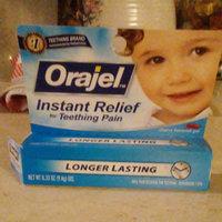 Baby Orajel Teething Pain Medicine, Gel, Cherry Flavor 0.33 Oz / 9.4 G (Pack of 3) uploaded by Hannah C.