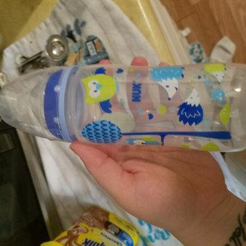 Photo of NUK Trendline Babytalk Orthodontic Bottle 10oz, Med Flow, Silicone uploaded by Mariah G.
