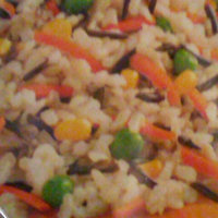 Birds Eye Steamfresh Selects Brown & Wild Rice With Corn, Carrots & Peas uploaded by Linda P.
