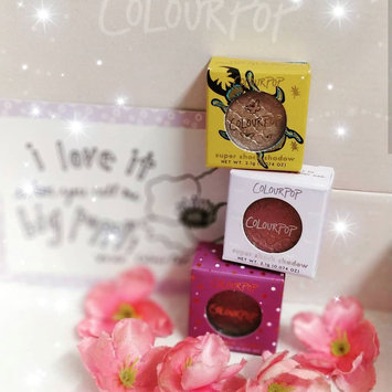Photo of ColourPop Super Shock Eye Shadow Collection uploaded by Pooja M.