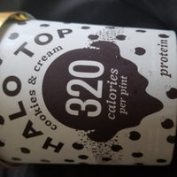 HALO TOP Cookies & Cream Ice Cream uploaded by Semaria S.