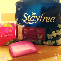 Stayfree® Super Long Classic Pads 22 ct Pack uploaded by alyssa p.