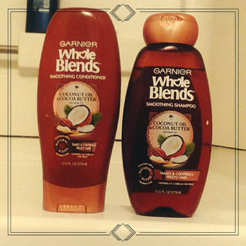 Photo of Garnier Whole Blends Coconut Oil & Cocoa Butter Extracts Smoothing Conditioner uploaded by alyssa p.