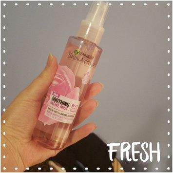 Photo of Garnier SkinActive Soothing Facial Mist with Rose Water uploaded by Jenny K.