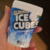 ICE BREAKERS ICE CUBES PEPPERMINT GUM uploaded by Jenny K.