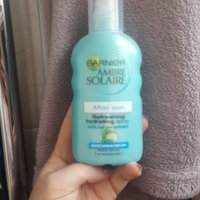 Garnier Ambre Solaire After Sun Soothing Hydrating Lotion uploaded by Rozz H.