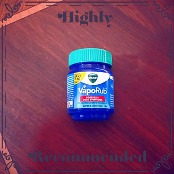 Photo of Vicks® VapoRub™ Topical Cough Suppressant uploaded by glory m.