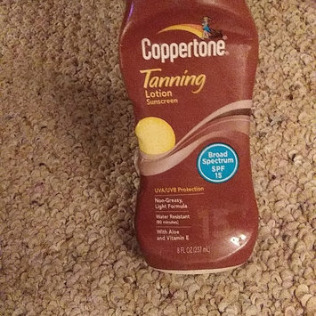 Photo of Coppertone Tanning Lotion SPF 15 uploaded by Marie C.