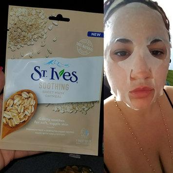 Photo of St. Ives Soothing Oatmeal Sheet Mask uploaded by Ashley C.
