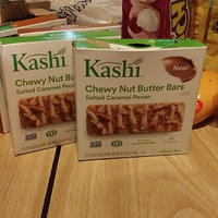 Kashi® Salted Caramel Pecan Chewy Nut Butter Bars uploaded by Tiffany L.