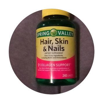 Spring Valley Hair Skin Nails Collagen Support