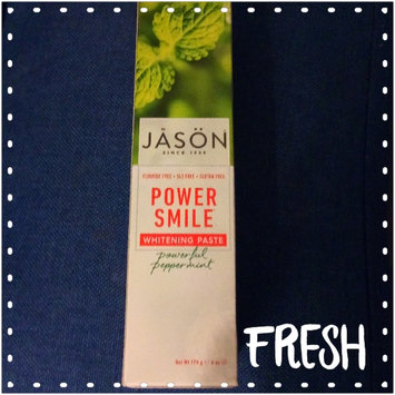 Photo of JĀSÖN Powersmile® Whitening Toothpaste Powerful Peppermint uploaded by Kristy G.