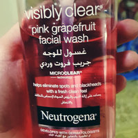 Neutrogena® Oil-Free Acne Wash Pink Grapefruit Facial Cleanser uploaded by Rabia S.