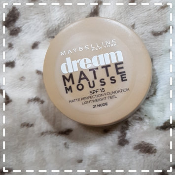 Photo of Maybelline Dream Matte® Mousse Foundation uploaded by Saman N.