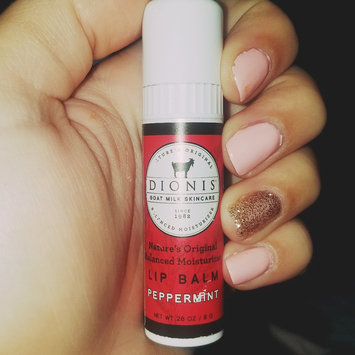 Photo of Dionis Goat Milk Skincare - Lip Balm Peppermint - 0.28 oz. uploaded by Holly B.