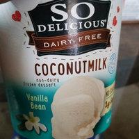 So Delicious Dairy Free Coconut Milk Frozen Dessert Vanilla Bean uploaded by Crystal B.