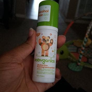 Photo of BabyGanics Alcohol Free Foaming Hand Sanitizer - On-the-Go (Tangerine) - 50ml uploaded by Mikhela C.