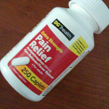 Photo of DG Health Extra Strength Pain Reliever - Caplets, 250 ct uploaded by Sheila M.