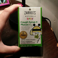 Zarbee's Naturals Baby Grape Cough Syrup + Mucus Reducer - 2.0 oz uploaded by Tiffany L.