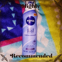 NIVEA Creme Smooth Silk Mousse Body Wash uploaded by britvanityxo 🖤.