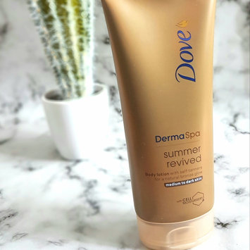 Photo of Dove Energy Glow Daily Moisturizer with Subtle Self-Tanners Medium to Dark Skin Tones uploaded by Stephmorgan T.