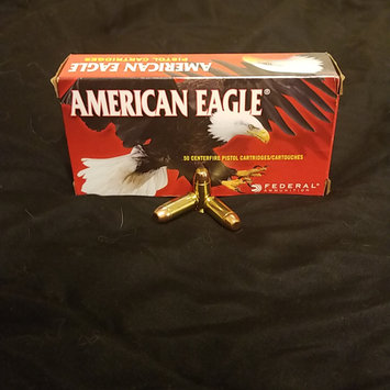 Photo of Federal American Eagle Handgun Ammo, 9mm Luger, 115 Gr, FMJ uploaded by Emily L.
