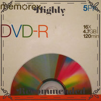 Memorex - 5-Pack 16x DVD-R Disc Spindle uploaded by Haley A.