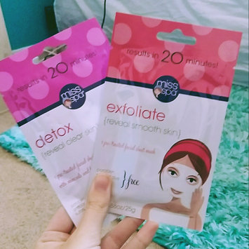 Photo of Miss Spa exfoliate Sheet Face Mask-1 Mask Pack uploaded by Kara E.