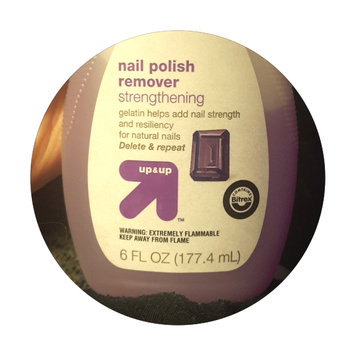 Photo of Up & up Strengthening Nail Polish Remover uploaded by Jaclyn R.