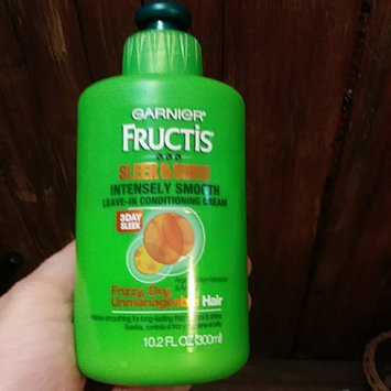 Photo of Garnier Fructis Sleek & Shine Intensely Smooth Leave-In Conditioning Cream uploaded by Kimberly L.
