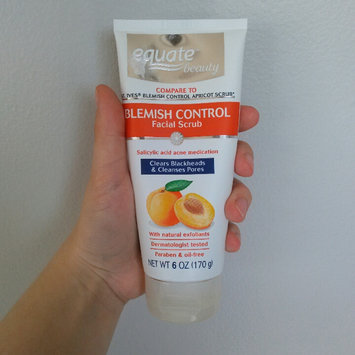 Photo of Equate Beauty Blemish Control Apricot Scrub, 6 oz uploaded by Angie G.