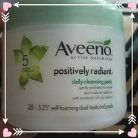 Aveeno Positively Radiant Cleansing Pads uploaded by Katherine B.