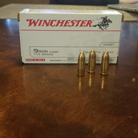 Winchester 9mm Luger 115gr FMJ Handgun Ammo uploaded by Emily L.