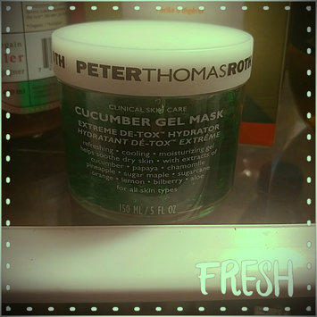 Photo of Peter Thomas Roth Cucumber Gel Mask uploaded by Emilie C.
