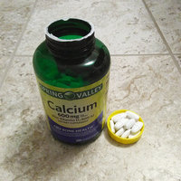 Spring Valley Calcium Supplement 600 mg with Vitamin D, 250 ct Twinpack uploaded by Angie G.