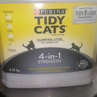 Tidy Cats Clumping Cat Litter 4-In-1 Strength Cat Litter uploaded by Lee W.