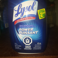 Lysol Power Toilet Bowl Cleaner uploaded by Lee W.
