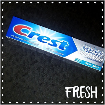 Photo of Crest Baking Soda & Peroxide Whitening Toothpaste With Tartar Protection uploaded by Jeannine L.
