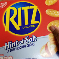 Nabisco RITZ Hint of Salt Crackers uploaded by Regina P.