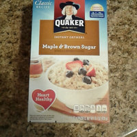 Quaker® Instant Oatmeal Cups Maple & Brown Sugar uploaded by Lexi W.