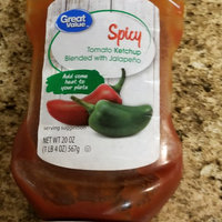 Great Value Spicy Tomato Ketchup Blended With Jalapeno, 20 oz uploaded by Regina P.
