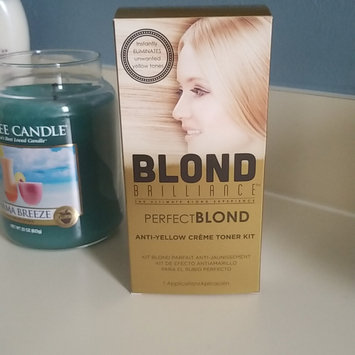 Photo of Blond Brilliance Perfect Blond Anti Yellow Kit uploaded by Tracy G.